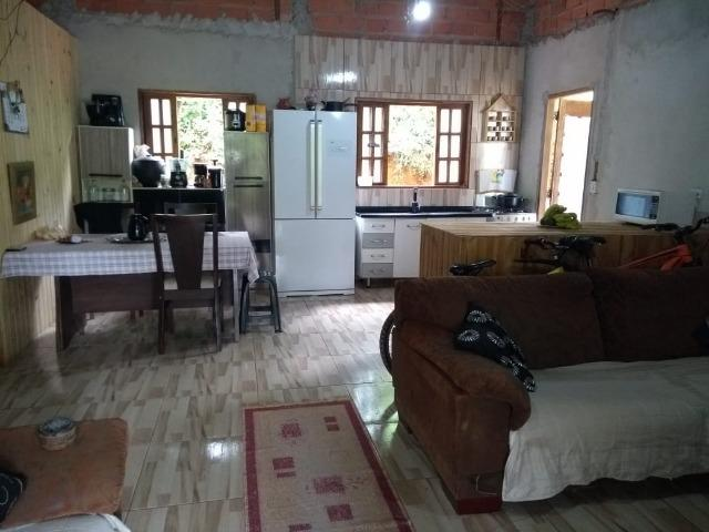 Terreno 400 m2 com casa no Bairro Ressaca. 8 Km do centro de Embu Das Artes - Foto 3