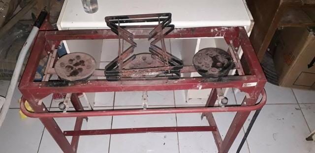 Fogão industrial usado 200$