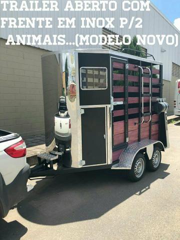 Trailers reboques para animais vários modelos. rabicho 5@ roda com garantia - Foto 2