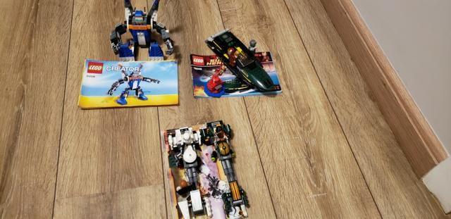Lego - Robô , Lancha Homem de Ferro e Star Wars