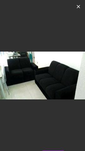 Conjunto di sofá pop novo 499 frete grátis