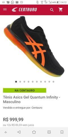d21be8a56f2 Tenis Asics gel Quantum infinity 360 - tam 41 - não aceito troca ...