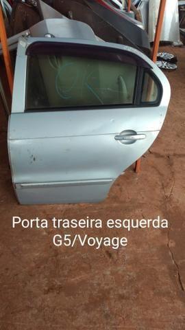 Porta traseira esquerda gol G5 g6 voyage