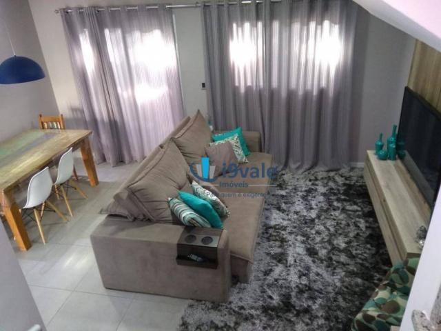 Linda casa com 3 dormitórios à venda, 86 m² por r$ 425.000 - jardim santa maria - jacareí/