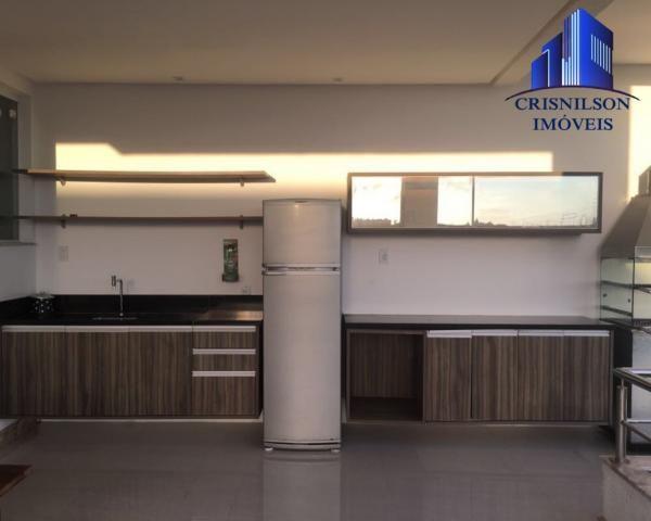 Casa à venda alphaville ii, salvador, r$ 1.650.000,00, armários, 4 suítes, espaço gourmet, - Foto 10