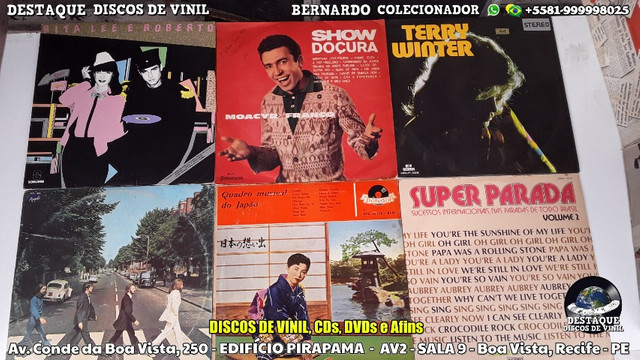 Discos de Vinil, Loja Físca Na Conde da Boa Vista, Recife - PE - Foto 5