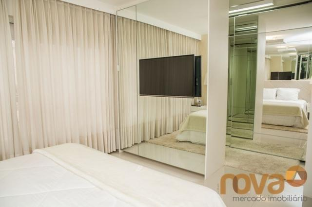 Apartamento à venda com 3 dormitórios em Setor bueno, Goiânia cod:NOV235442
