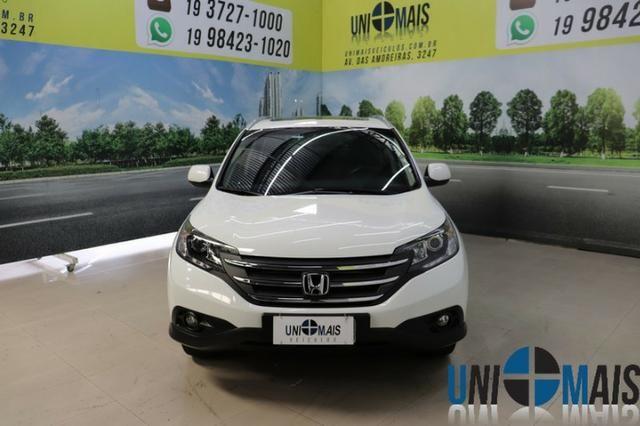 Honda Crv Exl 2014 Automatica Top Linha Flex Teto Solar Muito Nova Apenas 69.900 Lja - Foto 2