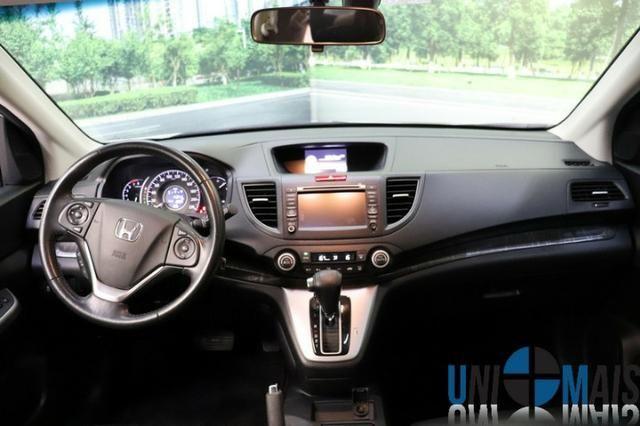 Honda Crv Exl 2014 Automatica Top Linha Flex Teto Solar Muito Nova Apenas 69.900 Lja - Foto 13