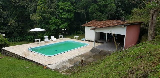 Sitio para locação de eventos com piscina em Santo Amaro da imperatriz - Foto 4