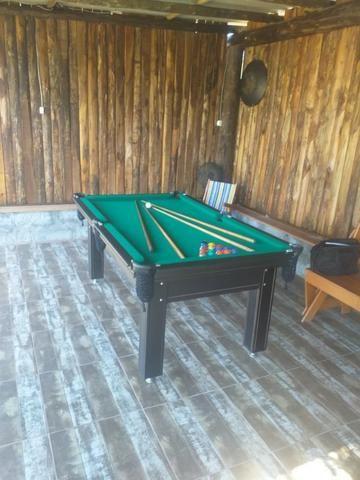 Mesa Tentação Carlin Cor Tabaco Tecido Verde Mod. LBFK09MT - Foto 2