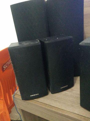 Vendo 6 caixinhas de som da onkyo - Foto 3