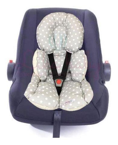 Almofada redutora para bebê conforto ou carrinho - Foto 2