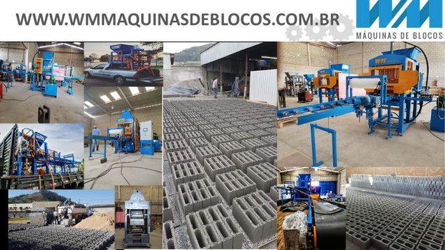 Maquina para fabricar blocos e artefatos de concreto - Foto 5