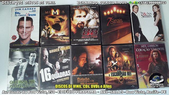 CDs, DVDs e Discos de Vinil Variados, Venha Cinhecer Nosso Acervo - Foto 5