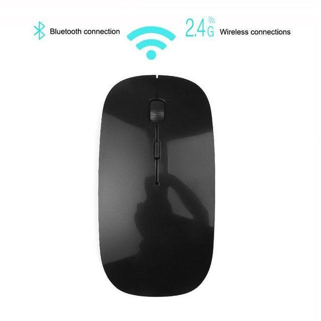 Mouse transmissão sim fio a pilhas  - Foto 3