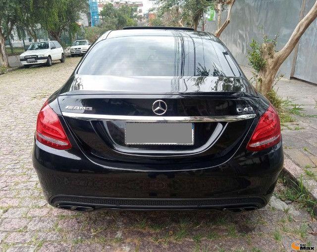 Mercedes C43 AMG - Aut.V6,  Bi-Turbo, Teto, 9.000Km - R$315.000,00 - Foto 4