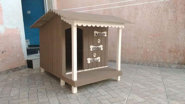 Casinha de cachorro com varanda a partir de 419 - Foto 3