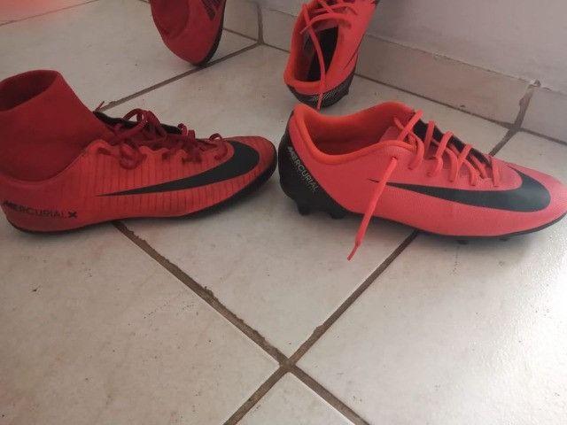 Chuteira campo Nike CR7 ( com trava ) - Foto 3