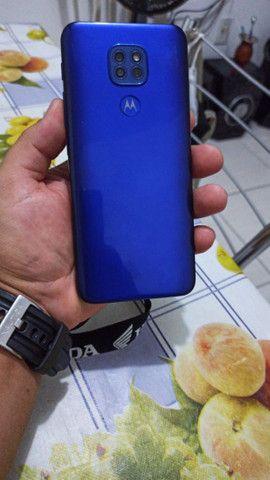 Moto g9 play novíssimo acompanha carregador i nota fiscal ainda na garantia - Foto 2