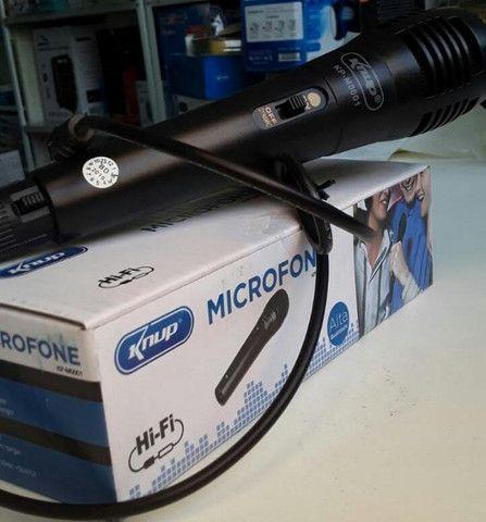 Microfone com Fio knup (entregamos)