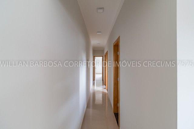 Casa nova com arquitetura moderna e cozinha americana no Rita Vieira 1! - Foto 8