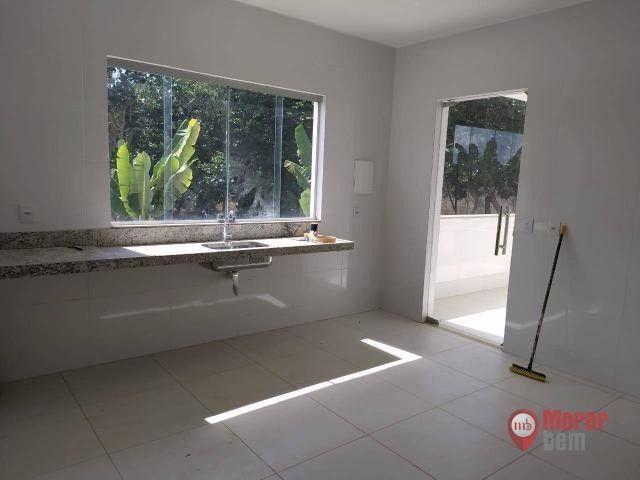 Casa, 3 quartos, suíte, 6 vagas, condomínio fechado, habite-se - Foto 12