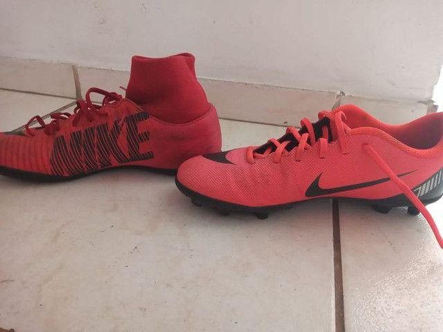 Chuteira campo Nike CR7 ( com trava ) - Foto 2