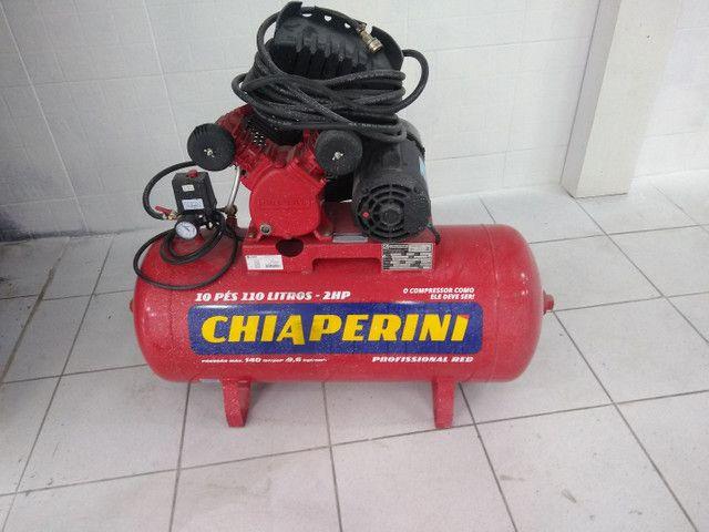 Compressor Chiaperini 110 litros - Foto 2