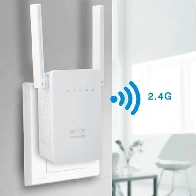 Repetidor Wifi - Sinal Wireless 2 Antenas 1200mbps + Rápido - Loja Coimbra - Foto 5
