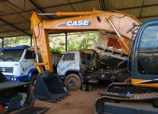 Escavadeira Hidraulica cx 220 case 2012 - Foto 6