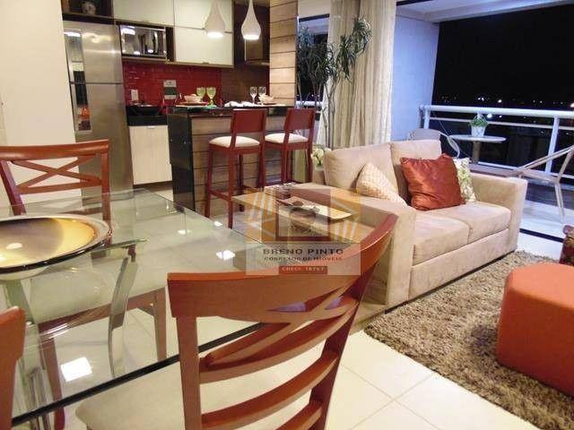 Apartamento com 2 dormitórios à venda, 72 m² por R$ 419.000,00 - Guararapes - Fortaleza/CE - Foto 6