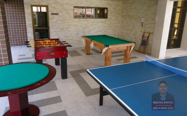 Apartamento no Villa Sonata com 3 dormitórios à venda, 124 m² por R$ 850.000 - Aldeota - F - Foto 8