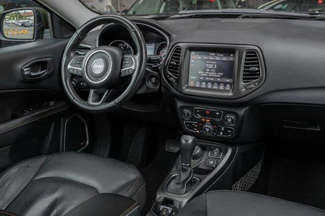 Jeep Compass 2018 longitude diesel 4x4 com pacote premium IPVA 2021 PAGO - Foto 9