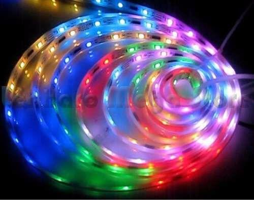 15m Fita Led 5050 Rgb Kit Completo Fonte 20a Cr Amplificador
