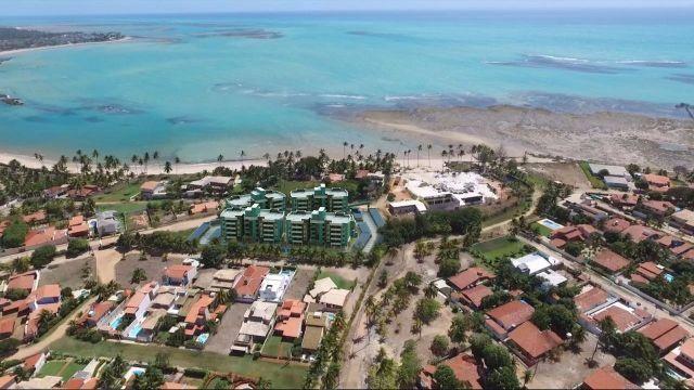 Apartamento localizado na Praia do Sonho Verde, a 50 metros do mar. Paripueira - Alagoas