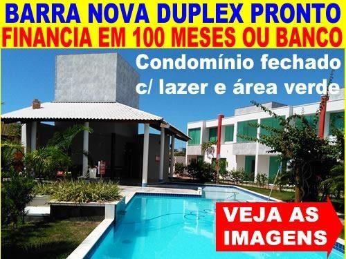 Barra Nova - 3 Quartos e 3 WCs - Fino Acabamento - Cond.Fechado