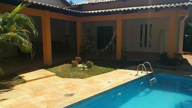 Casa para temporada 3 quartos c/piscina - Quadra 110 Sul acomodações 16 pessoas
