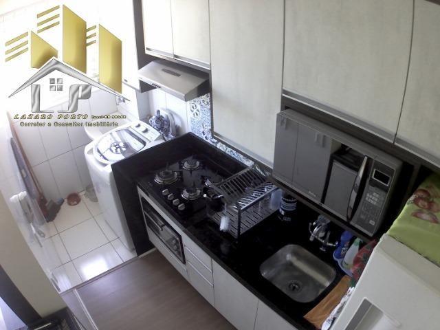 Laz - Apartamento com varanda e com modulados em Manguinhos - Foto 11