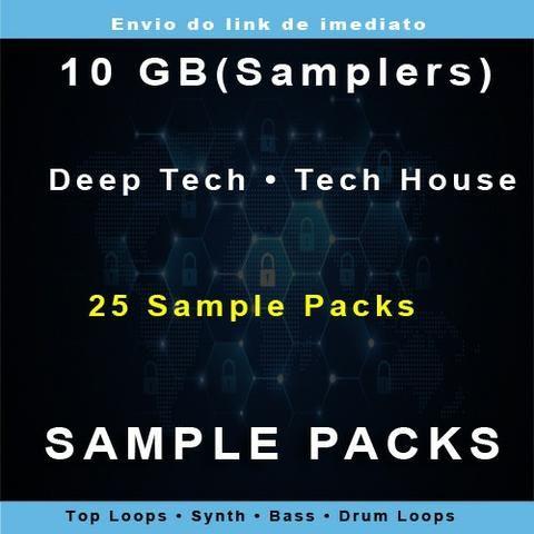 Sample Packs - Deep Tech / Tech House - On-line - 10gb - 25 Samplepacks 2019