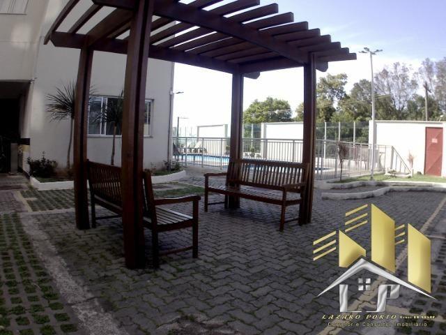 Laz - Apartamento com varanda e com modulados em Manguinhos - Foto 2