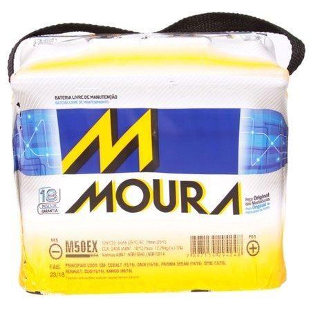 Bateria 50 caixa alta Moura do Onix, Prisma, Hb20 Corola novo Apenas R$330,00