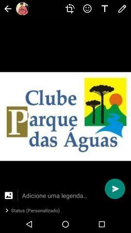 Título clube parque das Águas