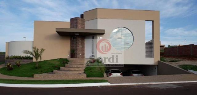 Casa com 4 dormitórios à venda, 304 m² por r$ 1.590.000 - condomínio buona vita ribeirão - - Foto 3