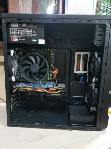 CPU GAMER Ryzen 5 1400, 16gb ram DDR4, GTX 660, SSD 120GB - Foto 4