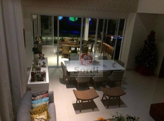 Sobrado com 5 dormitórios à venda, 413 m² por r$ 1.750.000,00 - alphaville - ribeirão pret - Foto 9