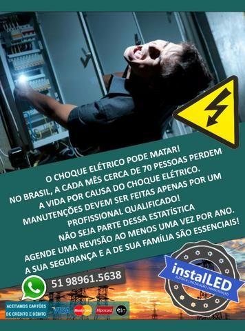 Eletricista Predial, Comercial, melhor atendimento - Foto 3