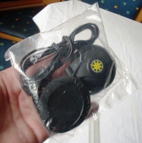 Colecionável Antigo - Fone de Ouvido da Varig - Lacrado - Foto 3