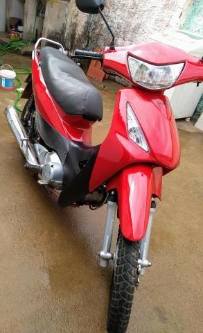 Motocicleta biz/125es, ano 2007,partida e pedal - Foto 4