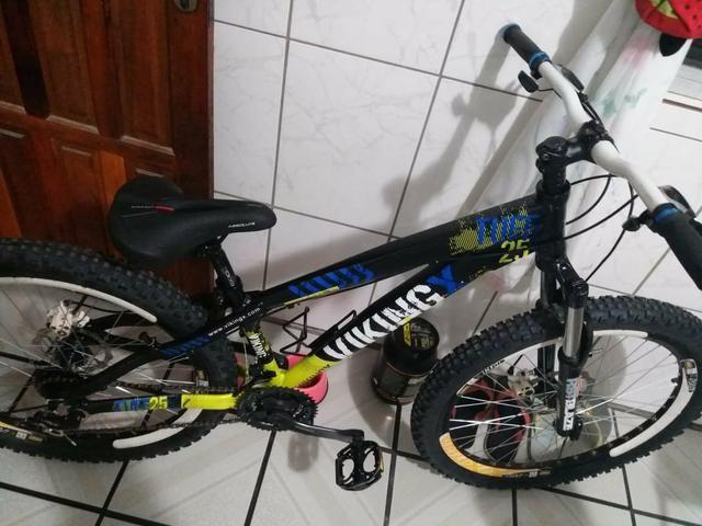 Bicicleta Vikingx nova (Entrego) - Foto 5